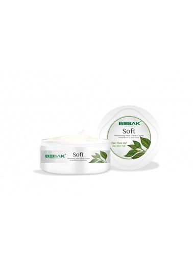 Bebak Bebak Soft Tea Tree Oil Hand and Body Cream 300ml Renksiz